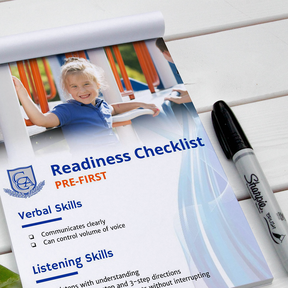 Early education Readiness Checklist