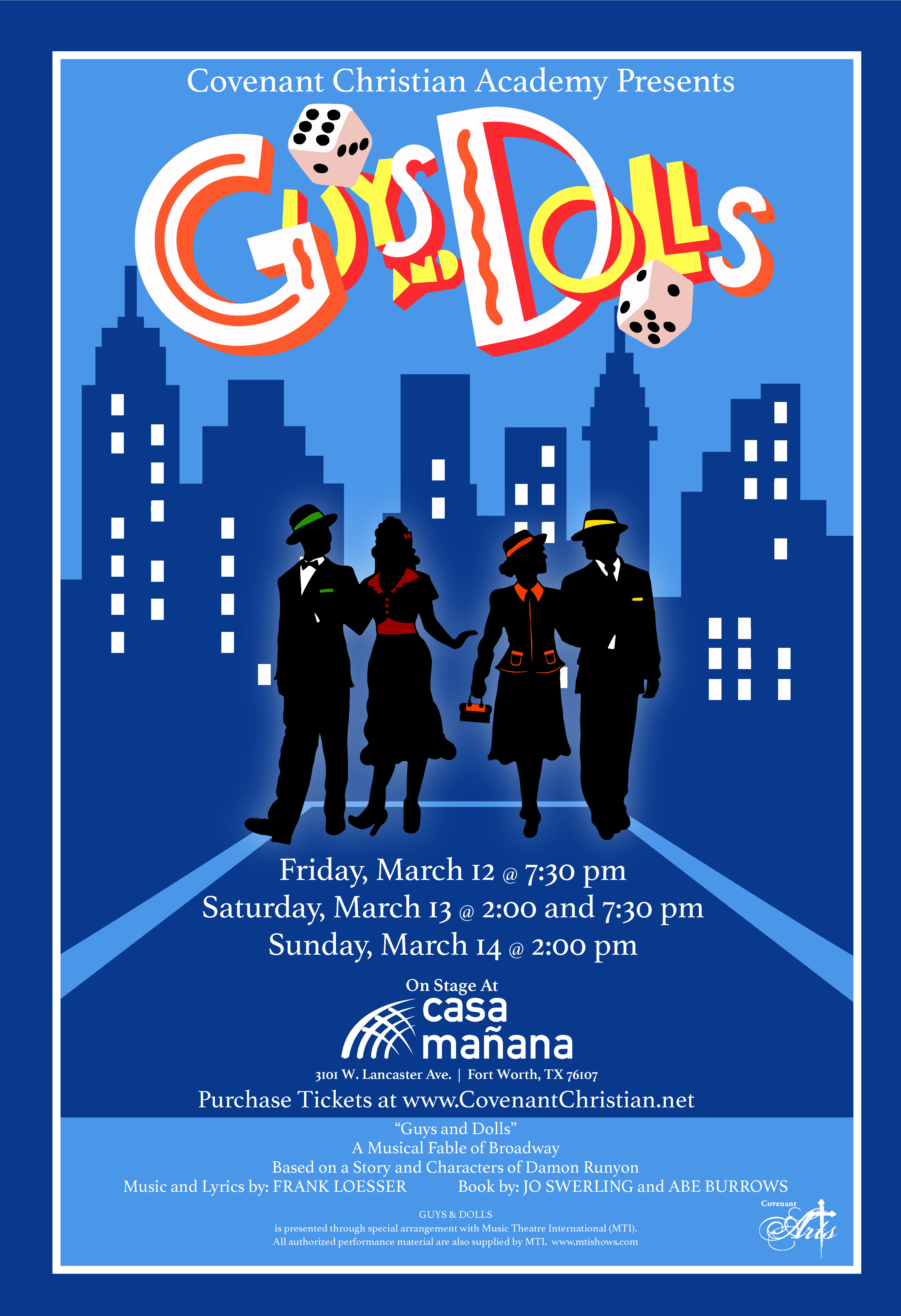 Guys and Dolls Poster FINAL