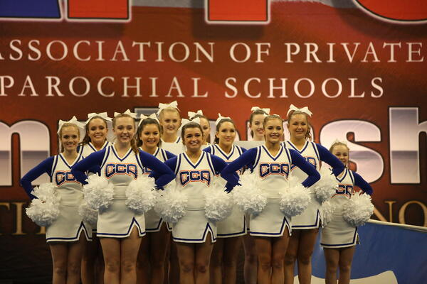 varsity cheerleading state competition