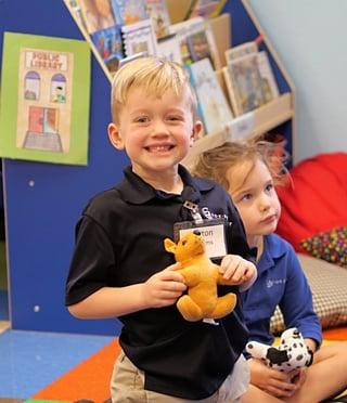 pre grammar boy kindergarten in texas